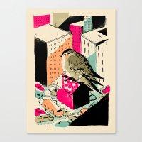 giants Canvas Prints featuring GIANTS! Birdy by Pietari Posti