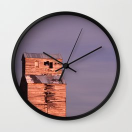Comanche Sunset Wall Clock