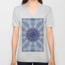 Winter abstract pattern Unisex V-Neck