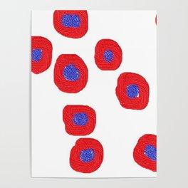 redblue3d Poster
