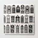 Moroccan Doors – Black Palette by catcoq