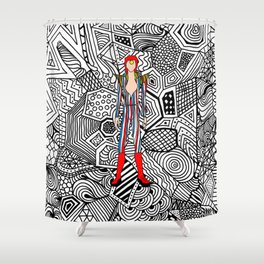Heroes Fashion 3 Shower Curtain