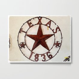 Texas, My Texas Metal Print