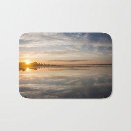 Baltic sea and sunset Bath Mat