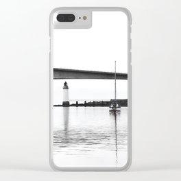 Isle of Skye Bridge Clear iPhone Case