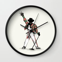 Scream Queen Wall Clock