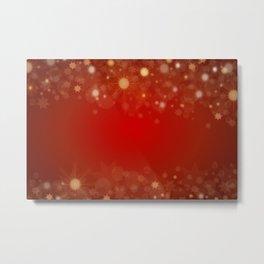 Background abstract christmas Metal Print