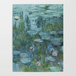 Monet, Water Lilies, Nympheas, Seerosen, 1915 Poster