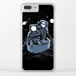 Explore the galaxy Clear iPhone Case
