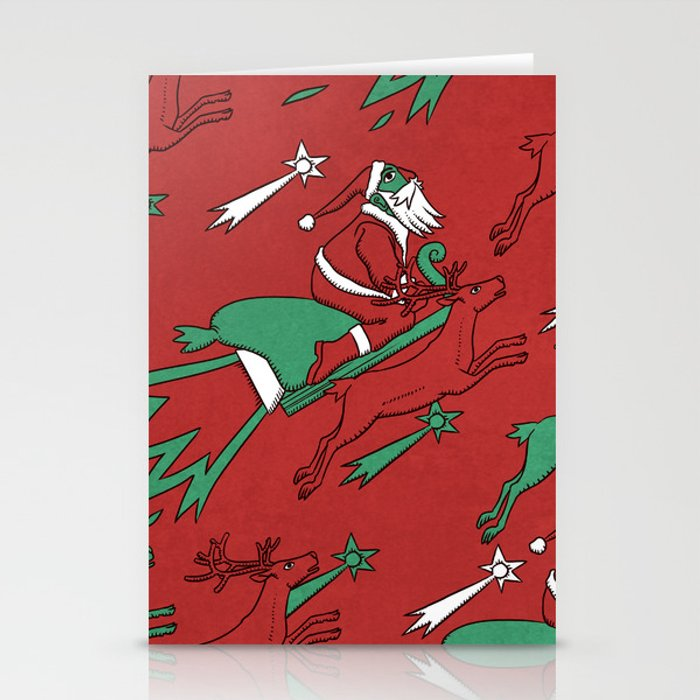 Santa Express Stationery Cards