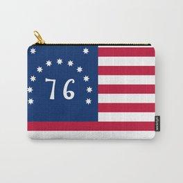 American Bennington flag Carry-All Pouch