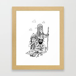 Three Wise Men Framed Art Print