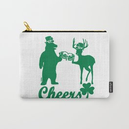 Happy St Patricks Day Cheers! Carry-All Pouch