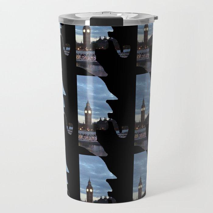 Sherlock Holmes London Travel Mug