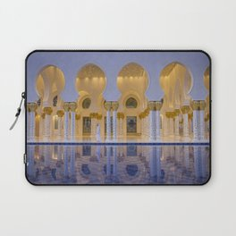 Sheikh Zayed Grand Mosque in Abu Dhabi Laptop Sleeve