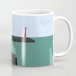 Island Fishing Coffee Mug