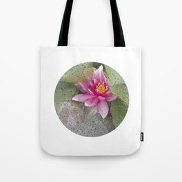 soft water lily IV Tote Bag