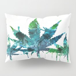 Blue Abstract Mary Jane Pillow Sham