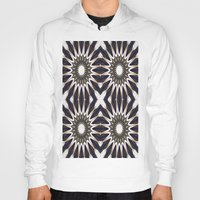 chocolate Hoodies featuring Chocolate Flower Mandala Pattern by 2sweet4words Designs