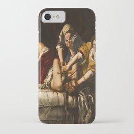 Artemisia Gentileschi's Judith Slaying Holofernes iPhone Case