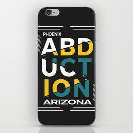ABDUCTION | UFO Art iPhone Skin