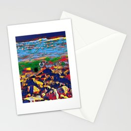 A Wild River Drains Water From Glaciers And Lakes Stationery Cards