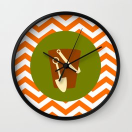 Sand Castle Bucket - Cute Summer Accessories Collection Wall Clock