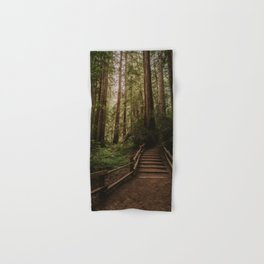 Muir Woods | California Redwoods Forest Nature Travel Photography Hand & Bath Towel