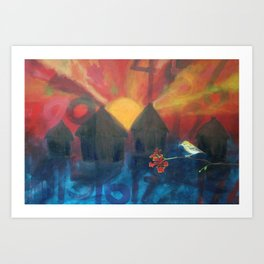 the fierce urgency of now, 3 Art Print