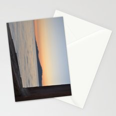 just beyond the ledge Stationery Cards