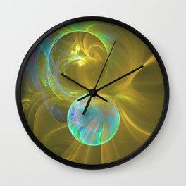 Eclipsing Spheres Wall Clock
