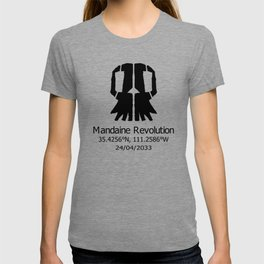 Mandaine Revolution Skull Logo T-shirt