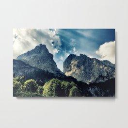 Austrian Mountain Metal Print