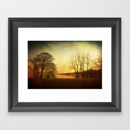 Autumn fever Framed Art Print