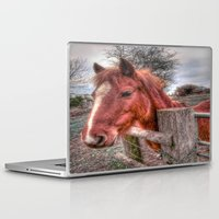 pony Laptop & iPad Skins featuring Pony  by Darren Wilkes Fine Art Images