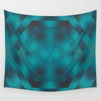 native Wall Tapestries featuring Native by Erica Anderson