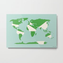 Incontinents Metal Print