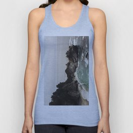 BIG SUR, CA WATERFALL AND COAST Unisex Tank Top