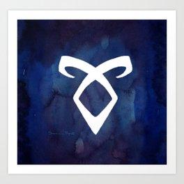 Angelic Rune Art Print