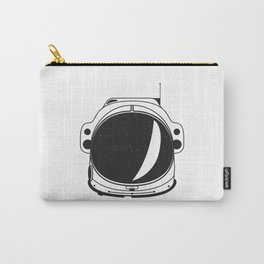 Cosmonaut helmet Carry-All Pouch