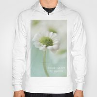 be happy Hoodies featuring Happy by Angela Fanton