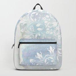 pastel lace design Backpack
