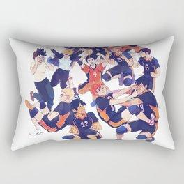 karasuno team  Rectangular Pillow