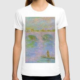 12,000pixel-500dpi - Claude Monet - Waterloo Bridge in London - Digital Remastered Edition T-shirt