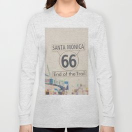 the end of route 66 ... Long Sleeve T-shirt