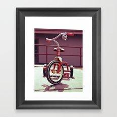 Tricycle Americana Framed Art Print