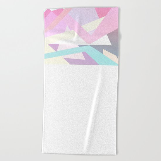 Pastel Pop Beach Towel