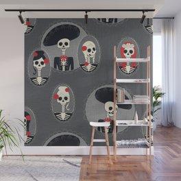 Dia de Los Muertos Wall Mural