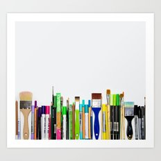 Real Weapons Of Mass Creation II Art Print