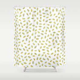 Bumble BaeBees Shower Curtain